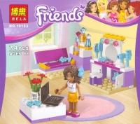 Конструктор. Friends (74дет) 10153 Спальня Андреа