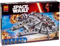 Конструктор. Star Wars (Звездные войны) (1364дет) 10467 Сокол Тысячелетия