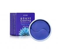 Petitfee. Agave Cooling Hydrogel Eye Patch - Патчи с экстрактом агавы