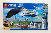Конструктор. Cities (559дет) 11210 Аэропорт
