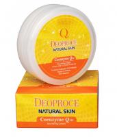 Deoproce. Natural Skin Coenzyme Q10 - Антивозрастной регенерирующий крем для лица. 100гр
