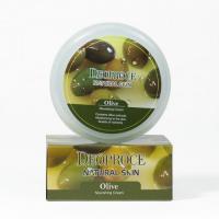 Deoproce. Natural Skin Olive Nourishing Cream - Питательный крем для лица и тела с маслом оливы. 100гр