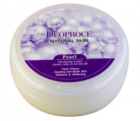 Deoproce. Natural Skin Pearl Nourishing Cream - Питательный крем с экстрактом жемчуга. 100гр