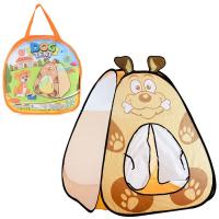 Детская игровая палатка  DOG JY1710. 90х90х95 см