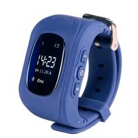 Детские часы с GPS Wonlex Q50 (темно-синие)