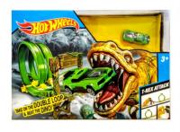 Hot Wheels (Хот Вилс). Трек с динозавром. QQ 8836