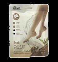 Ekel. Snail Foot Peeling Pack - Пилинг-носочки с муцином улитки