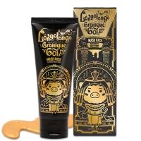 ELIZAVECCA. Longo Longo Gronique Gold Mask Pack - Золотая омолаживающая маска с пептидами