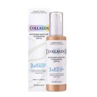 Enough. Collagen. Тональный крем. 3в1. N 21