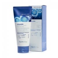 Farm Stay. Collagen Water Full Moist Cleansing Foam - Антивозрастная увлажняющая пенка с коллагеном для очищения кожи