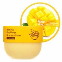 Farm Stay. Real Mango All-In-One Cream - Насыщенный питательный и увлажняющий крем для кожи лица и тела с маслом манго. 300мл