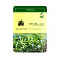 Farm Stay. Тканевая маска для лица. Sheet Green Tea Seed (с семенами зеленого чая)