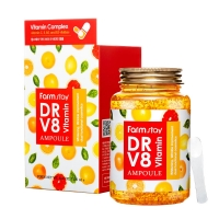 Farm Stay. DR-V8 Vitamin ampoule - Ампульная сыворотка с витаминами 250ml
