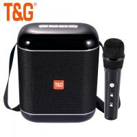 Колонка портативная bluetooth TG 523 K + микрофон