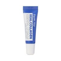 Farm Stay. Real collagen essential lip balm - Суперувлажняющий бальзам для губ с коллагеном. 10мл