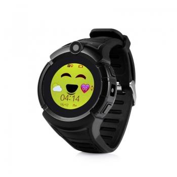 Детские часы с GPS Wonlex GW600 (Q360) (черные)