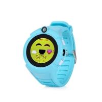 Детские часы с GPS Wonlex GW600 (Q360) (голубые)