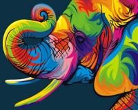 GX 27735 Радужный слон+*