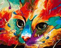 GX 4858 Красочный кот