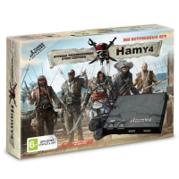 "Sega - Dendy ""Hamy 4"" 350-in-1 Assassin Creed Black (пираты)"