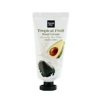 Farm Stay. Tropical Fruit Hand Cream - Avocado & Shea Butter - Крем для рук с маслами ши, жожоба, экстрактом авокадо