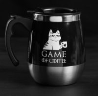 "Термокружка ""Game of coffee"",  400 мл, сохраняет тепло 2 ч   5065975"