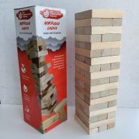 Настольная игра Дженга МУТ (падающая башня)