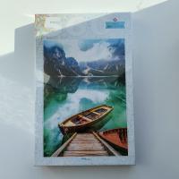 """Пазлы 560 """"Италия. Озеро Брайес"""" 78108"""