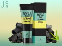 J:ON Gentle Foam Cleansing Charcoal - Пенка для умывания УГОЛЬ , 100 мл