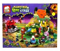 Конструктор. Зомби против растений (Plants vs Zombies) (606дет) JX 90066 Оборона