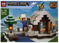 Конструктор. Майнкрафт (Minecraft) (285дет) 6011 Зимний домик