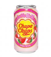 Газированный напиток Chupa Chups «Клубника», 345 мл 6385036