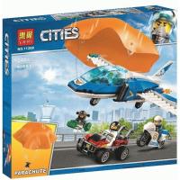 Конструктор. Cities (242дет) 11208 Воздушная полиция: арест парашютиста