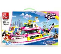 Конструктор. Dream Town (550дет) 80002 Прогулка на яхте