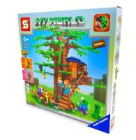 Конструктор. Майнкрафт (Minecraft) (1109дет) SY 6187
