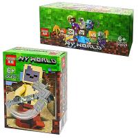 Конструктор. Майнкрафт (Minecraft) (21+дет) GG 021