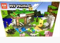 Конструктор. Майнкрафт (Minecraft) (257дет) 6026