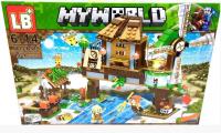 Конструктор. Майнкрафт (Minecraft) (402+дет) LB 318