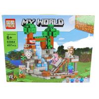 Конструктор. Майнкрафт (Minecraft) (457дет) 63064
