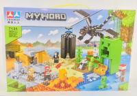 Конструктор. Майнкрафт (Minecraft) (565+дет) 7131