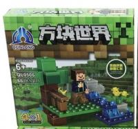 Конструктор. Майнкрафт (Minecraft) (66+дет) QL 0506