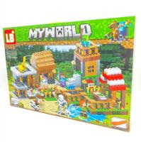 Конструктор. Майнкрафт (Minecraft) (778+дет) LB 600 Ферма