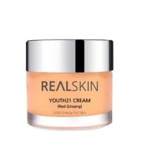 REALSKIN. Youth 21 Cream (Red ginseng) - Крем для лица на основе красного женьшеня с антивозрастным эффектом. 50 гр
