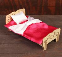 Конструктор «Чудо-кровать» + спальный набор 5384538