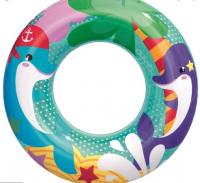 Круг надувной для плавания «Морские приключения», d=51 см, от 3-6 лет, МИКС, 36113 Bestway