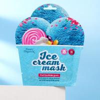 Тканевая маска-мороженое охлаждающая для лица Funny Organix «Ледяное увлажнение», 22 г 6534882