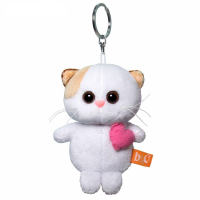 Кошечка Ли Ли с розовым сердцем (брелок) АВВ-014 5361218