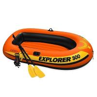 """Лодка """"Explorer Pro 300"""" 3-мест. (244х117х36см)+насос+весла 58358"""