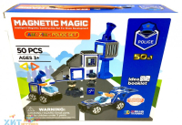 "Магнитный конструктор Magnetic Magic ""Polic"" (50дет) LQ663"