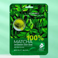 Тканевая маска для лица Corimo Matcha «Антиоксидант», 22 г 7102510